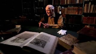 Николай Иванович Калинин рассказывает о своих посещениях библиотеки