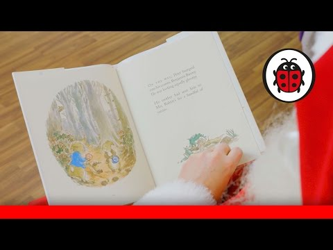 Santa Reads The Christmas Tale Of Peter Rabbit From Hamleys