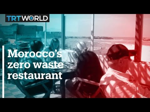 Morocco restaurant owner adopts 'zero-waste' policy