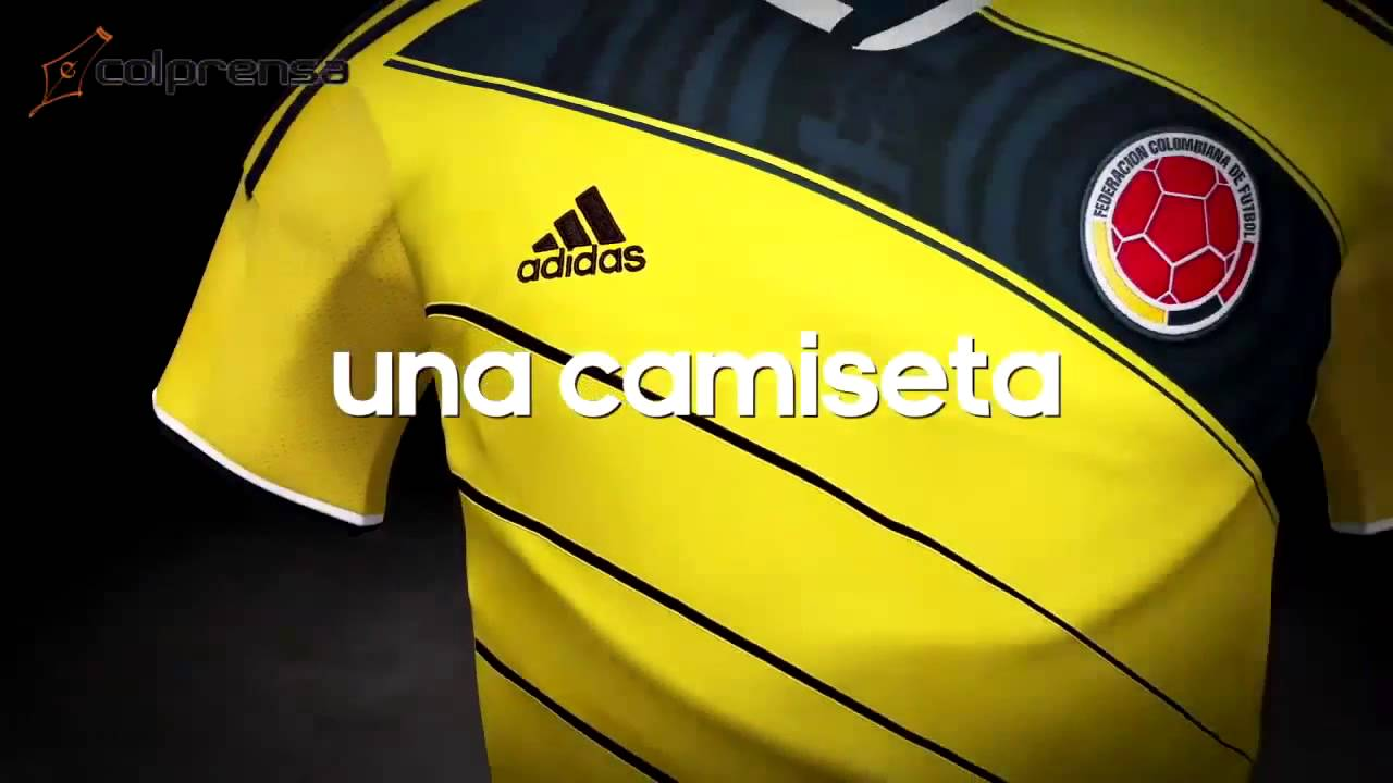Camiseta Colombia Adidas 2014 - Colombia World Cup Adidas Jersey (HD) -  YouTube 7491c620e