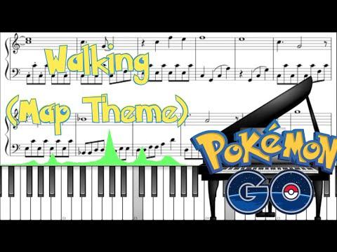 How To Play Pokemon Go Theme Walking Map Easy Violin Tutorial
