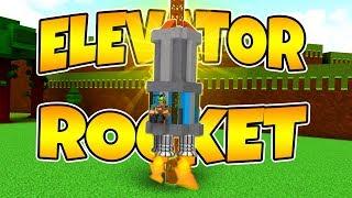Bau eines Aufzugs ROCKET! Baue ein Boot für Schatz | Roblox