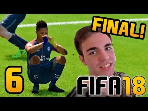 FIFA 18 El Trayecto CAPITULO 6 FINAL - ALEX HUNTER Gameplay Fran MG   Modo Historia COMPLETO