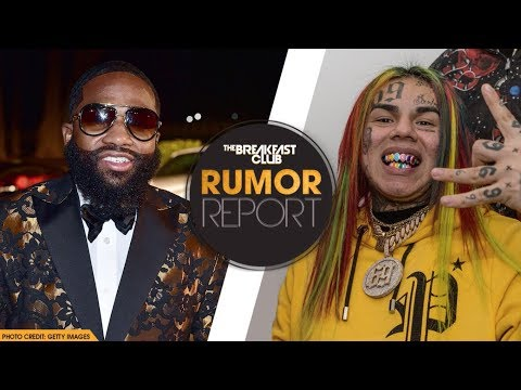 6ix9ine and Adrien Broner Take Shots At Each Other