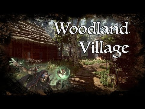 D&D Ambience - Woodland Village