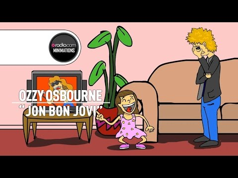 Ozzy Osbourne Recalls Daughter Kelly's Obsession with Bon Jovi (Radio.com Minimation)