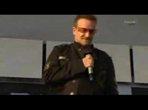 Herbert Grönemeyer und Bono - Mensch