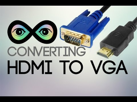 Converting HDMI to VGA Infinite Loop YouTube