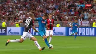 Nice 0-2 Napoli | UEFA Şampiyonlar Ligi Play-Off Turu Maç Özeti