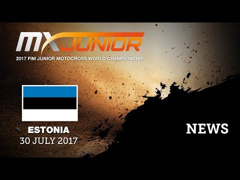 NEWS Highlights_FIM Junior Motocross World Championship_Tartu, Estonia
