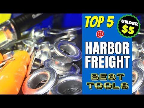 TOP 5 BEST HARBOR FREIGHT TOOLS!! (UNDER $5)