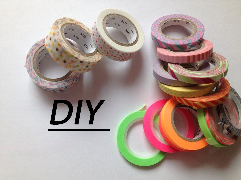 diy que faire avec du washi tape ppp youtube. Black Bedroom Furniture Sets. Home Design Ideas