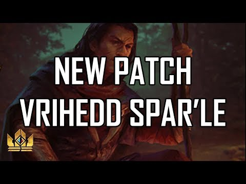 Gwent - NEW PATCH Spell'Ale Tael Deck - [Public Test Realm]