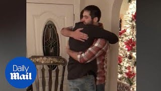 Guy surprises brother by donating him his kidney