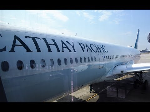 Cathay Pacific A350 Economy Class Review: Manila to Hongkong