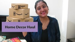 Amazon and Myntra Haul |Home Decor Items | Amazon Great Indian Sale |