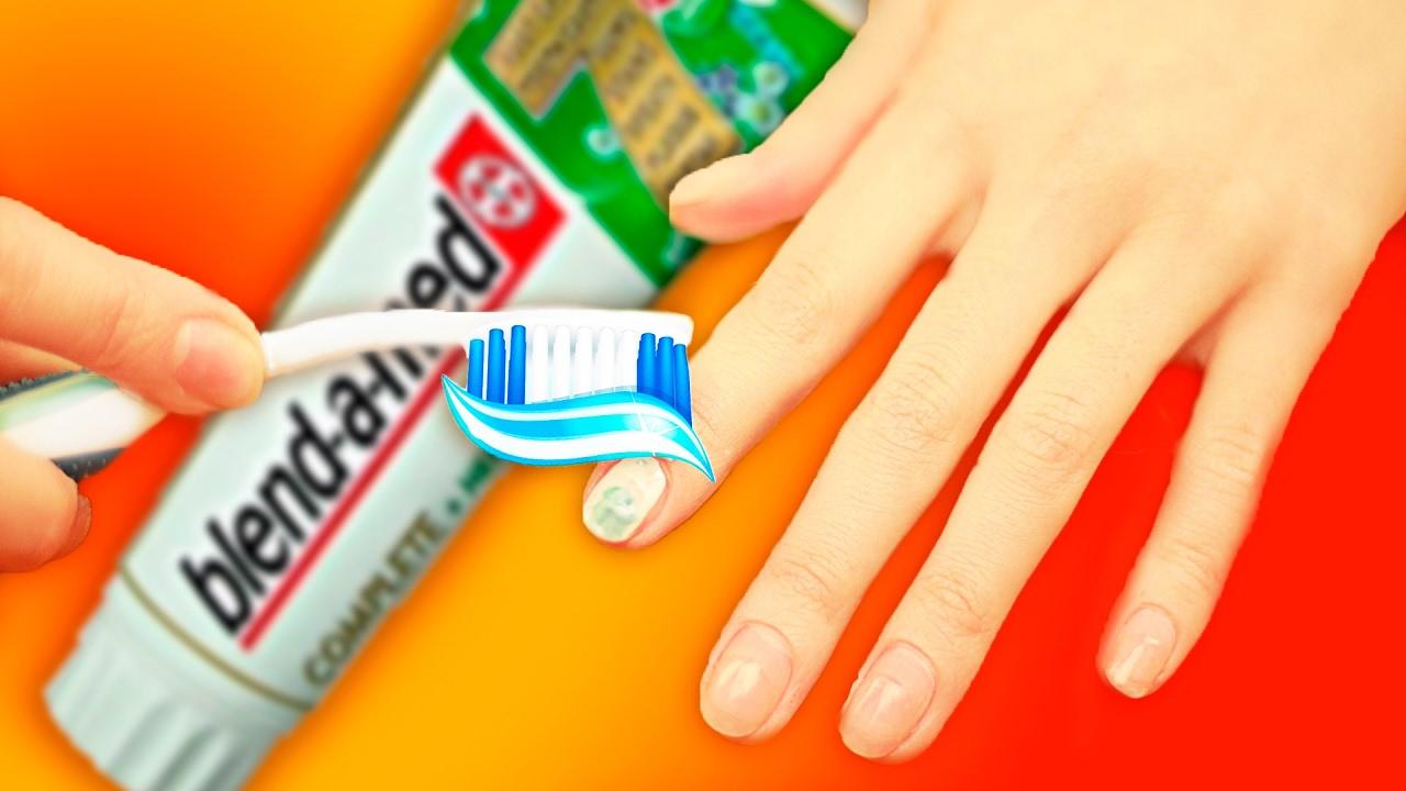 Лайфхак для ногтей