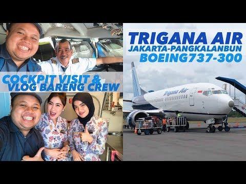 TRIGANA AIR Flight IL708 Jakarta Ke Pangkalan Bun Review Vlog