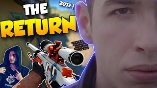 CS:GO - THE RETURN OF kennyS?! BEST OF KENNYS!! *2017* ft. Crazy Flicks, Insane Clutches & More!