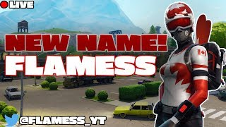 "NEW NAME ""FLAMESS"" 