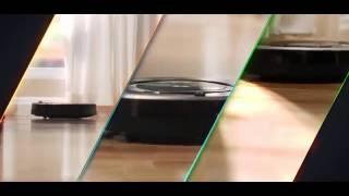 Рекламный ролик пылесоса Irobot для медиафасада