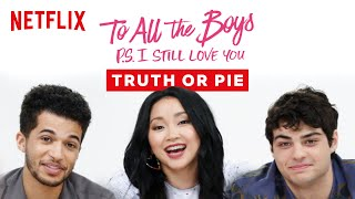 Lana Condor Pies Noah Centineo in the Face | To All the Boys Trivia | Netflix