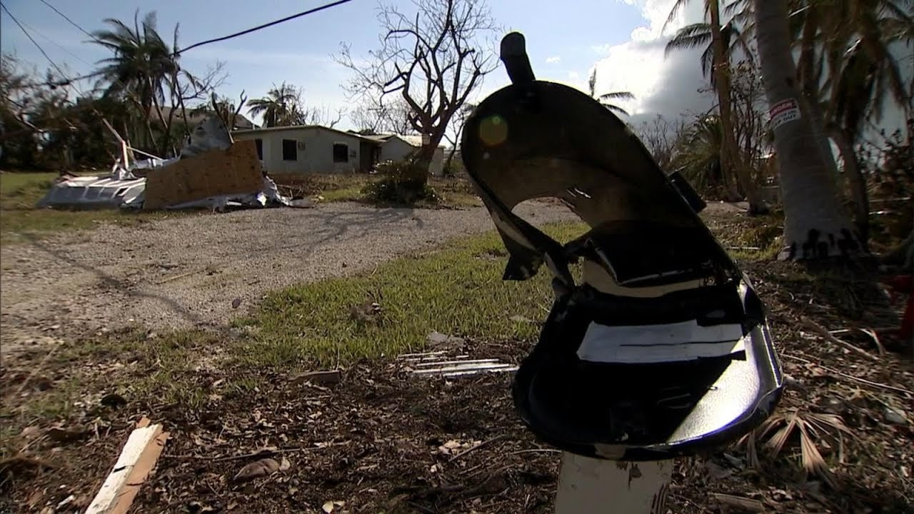 Miles and miles of destruction where Irma first made landfall in the U.S.