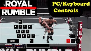 WWE 2K18 - ROYAL RUMBLE Controls Tutorial (PC)