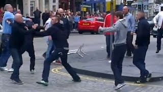 12/13 Hibernian FC - Hearts Casual Soccer Firm and Rangers Inter City Firm vs Hibs Baby Crew