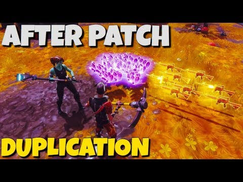 *AFTER PATCH* NEW DUPLICATION GLITCH FOUND !! Fortnite Save The World