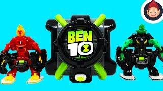 BEN 10 Omni Launch Battle Figures Omnitrix Toys