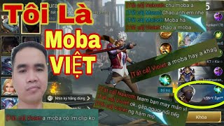 Liên Quân | Giả Dạng Moba Việt Vào Chơi Game - Ai Cũng Tin Moba Việt Thật Trận Đấu Cực Hay Với Murad