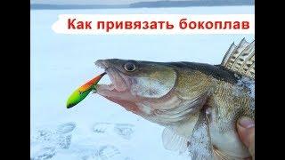 Як прив'язати бокоплав. Азбука зимової риболовлі.