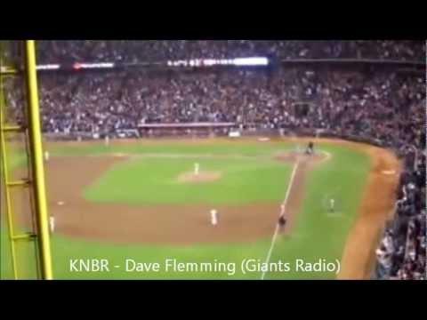 TV and Radio Calls of Matt Cain's Perfect Game vs. Astros 6/13/2012