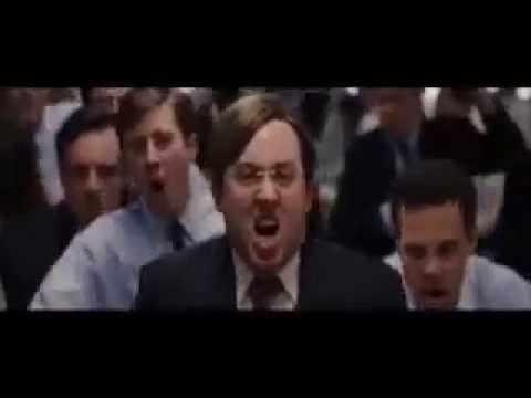 Wolf of Wall Street Chest Humming Office
