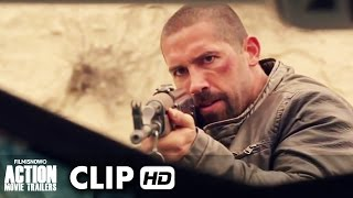 Close Range ft. Scott Adkins Movie Clip 'Adkins Vs Truck'  (2015) - Action Movie [HD]