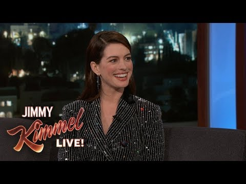 Anne Hathaway's Son Hates Her Singing