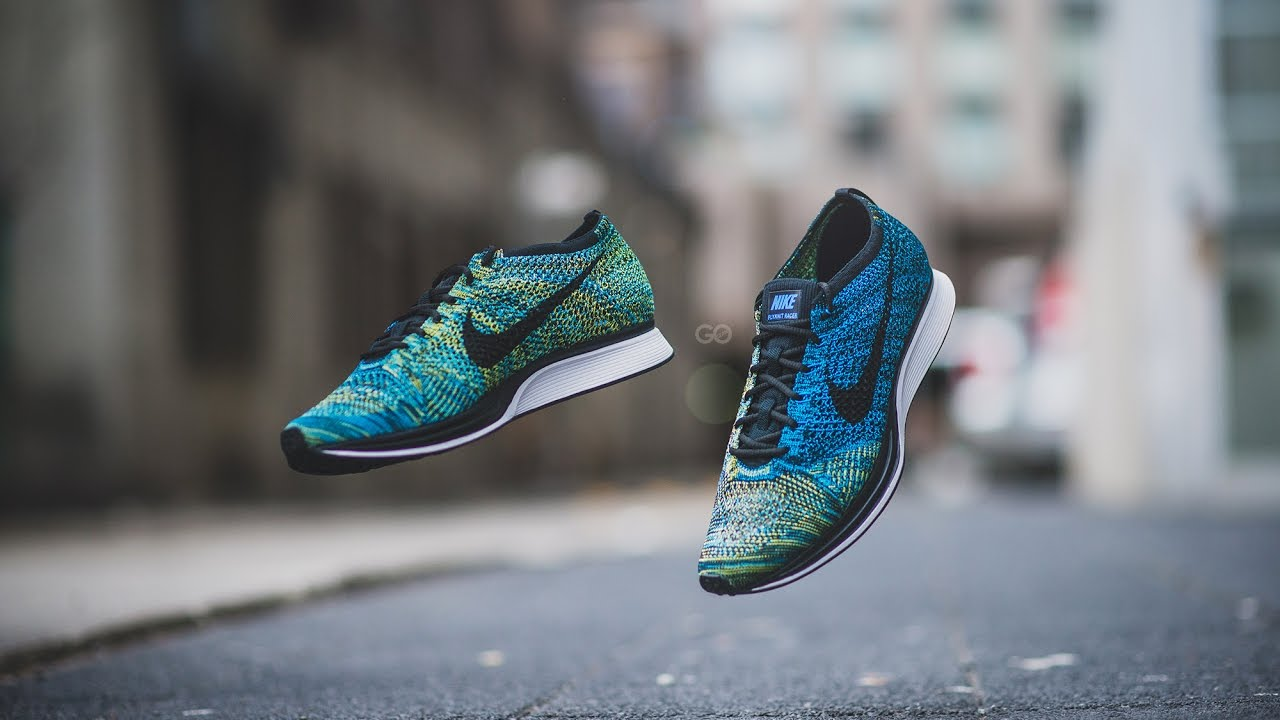 48a92e89eb1b Review   On-Feet  Nike Flyknit Racer