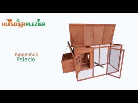 Huisdierplezier.nl | Kippenhok Palacio | Kippenhok bouwen