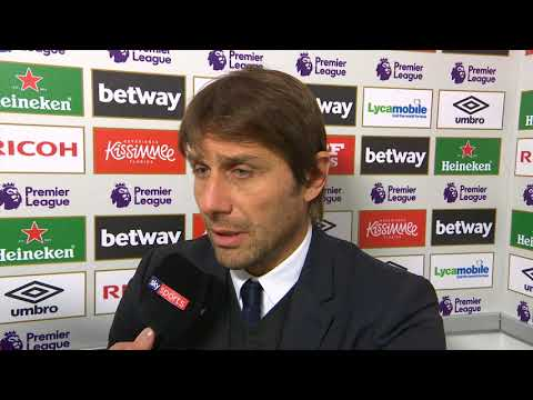 "Conte on losing to West Ham: ""I think many players were tired"""