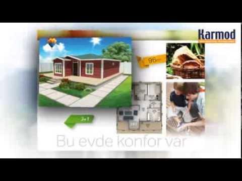 Prefabricated House Models - Karmod Turkey