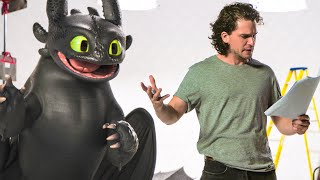 Kit Harington vs Toothless Funny Clip - HOW TO TRAIN YOUR DRAGON 3 (2019)