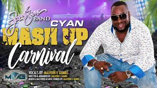 Spectrum Band - Cyan Mash Up Carnival