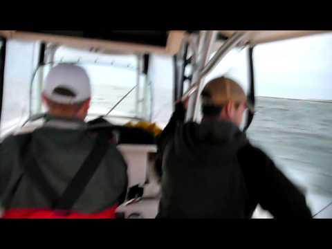 Rough Seas in Barnegat Inlet