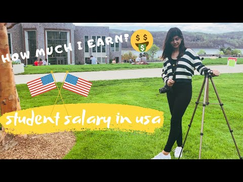 International Student Salary In USA | MS In US  | Marist College | Chelsi