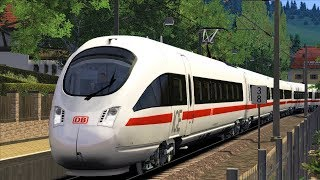 Let's Play Train Simulator 2018 | Mittenwaldbahn | ICE-T | Innsbruck - Hamburg | Skyhook Games
