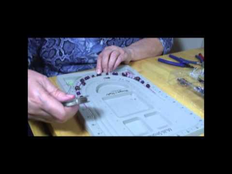 beading with Marcia - How to make a beaded necklace