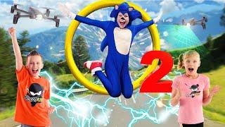 Sonic The Hedgehog 2! Ninja Kidz
