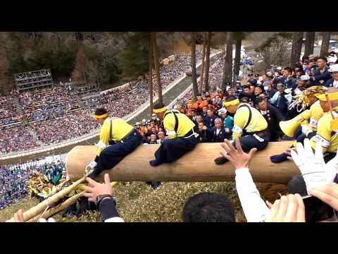 諏訪御柱祭 Dangerous festival『春宮四』