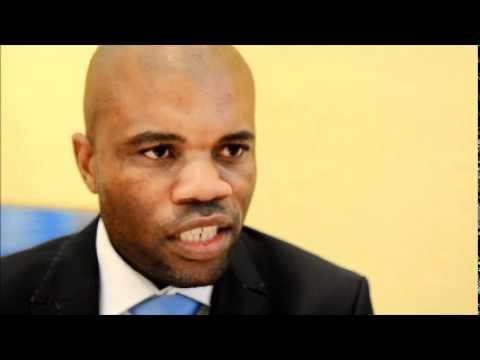 JoJo Tsheola of Tshela Dinare Tours and Transfers @ ATM 2011